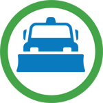 Snow Plowing icon